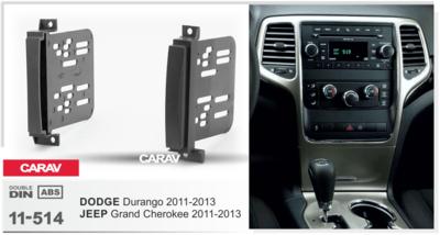 Carav Рамка JEEP Grand Cherokee 2011-2013 / DODGE Durango 2011-2013 (CARAV 11-514) (фото, вид 1)