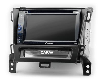 Carav Рамка OPEL Zafira (C) 2011-2016 (с кнопками в комплекте) (CARAV 11-521) (фото, вид 3)