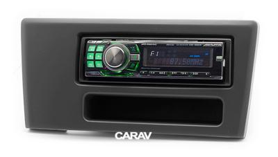 Carav Рамка VOLVO S60 2000-2004; V70, XC70 2001-2004 (с карманом) (CARAV 11-557) (фото, вид 3)