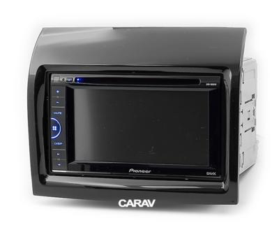 Carav Carav 11-559 | 2DIN переходная рамка Peugeot Boxer 2006+, Fiat Ducato 2006+,Citroen Jumper 2006+ (фото, вид 3)