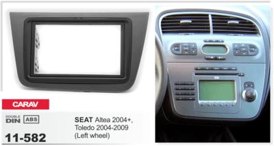 Carav Рамка SEAT Altea 2004-2015, Toledo 2004-2009 (CARAV 11-582) (фото, вид 2)