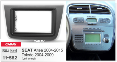 Carav Рамка SEAT Altea 2004-2015, Toledo 2004-2009 (CARAV 11-582) (фото, вид 3)