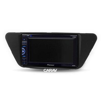 Carav Carav 11-590   2DIN переходная рамка Lifan X50 2014+ (фото, вид 1)