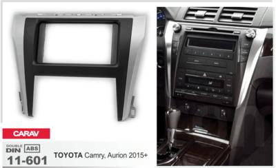 Carav Carav 11-601 | 2DIN переходная рамка Toyota Camry, Aurion 2015+ (фото, вид 2)
