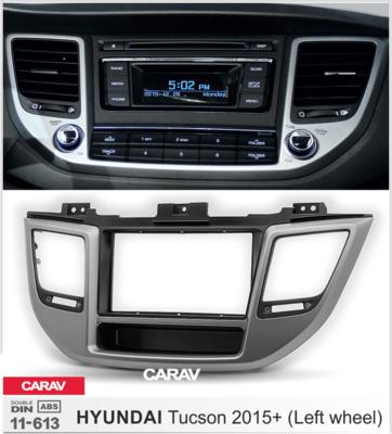 Carav Рамка HYUNDAI Tucson 2015+ (руль слева / с карманом) (CARAV 11-613) (фото, вид 3)
