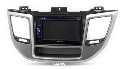 Carav Рамка HYUNDAI Tucson 2015+ (руль слева / с карманом) (CARAV 11-613) (фото, вид 4)