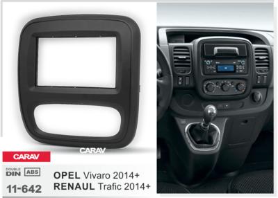 Carav Рамка RENAULT Trafic 2014+ / OPEL Vivaro 2014+ (CARAV 11-642) (фото, вид 1)