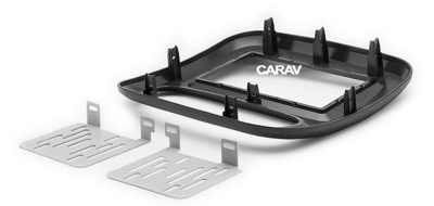 Carav Рамка RENAULT Trafic 2014+ / OPEL Vivaro 2014+ (CARAV 11-642) (фото, вид 3)