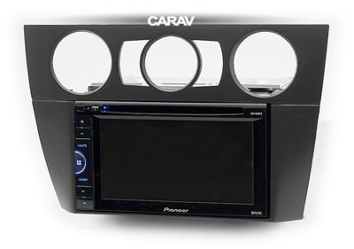 Carav Рамка BMW 3-Series (E90/91/92/93) 2004-2012 (без климат-контроля / без навигации) (CARAV 11-644) (фото, вид 3)