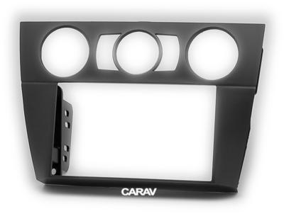 Carav Рамка BMW 3-Series (E90/91/92/93) 2004-2012 (без климат-контроля / без навигации) (CARAV 11-644) (фото, вид 5)
