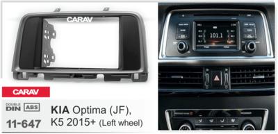 Carav Рамка KIA Optima (JF), K5 2015+ (CARAV 11-647) (фото, вид 2)