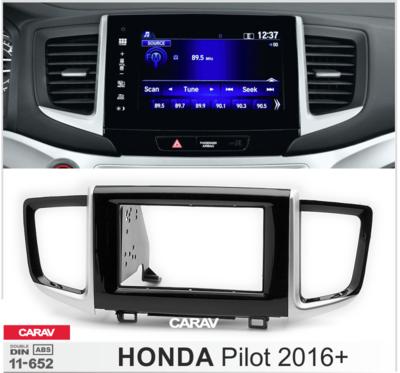 Carav Рамка HONDA Pilot 2016+ (CARAV 11-652) (фото, вид 2)