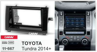 Carav Рамка TOYOTA Tundra 2014+ (CARAV 11-667) (фото, вид 2)