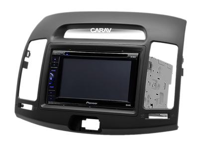 Carav Рамка HYUNDAI Elantra (HD), Avante (HD) 2006-2010 (руль слева) (CARAV 11-680) (фото, вид 4)