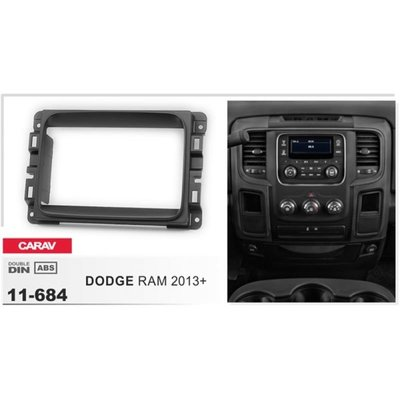 Carav Рамка DODGE RAM 2013+ (CARAV 11-684) (фото, вид 1)