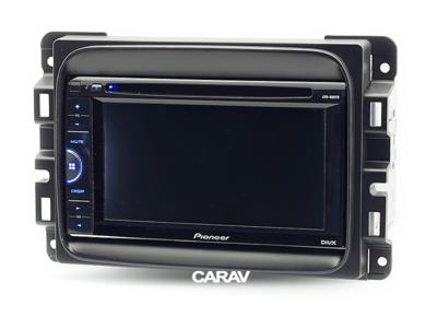 Carav Рамка DODGE RAM 2013+ (CARAV 11-684) (фото, вид 3)