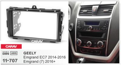 Carav Рамка GEELY Emgrand EC7 2014-2016, Emgrand 7 2016+ (CARAV 11-707) (фото, вид 2)