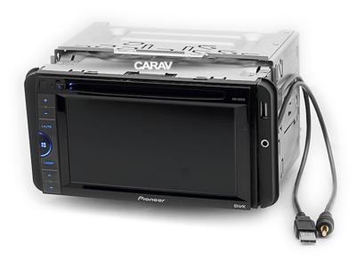 Carav Carav 11-712 | боковые вставки со встроенным USB + AUX для Toyota (фото, вид 2)