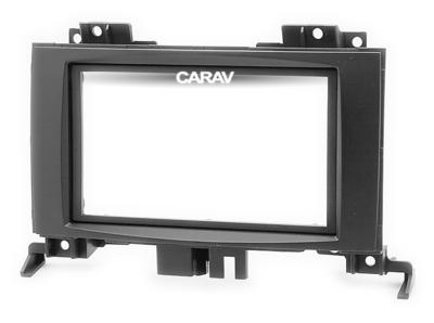 Carav Carav 11-714   2DIN переходная рамка Volkswagen Crafter 2006+, Mercedes-Benz Sprinter (W906) 2006+ (фото, вид 5)