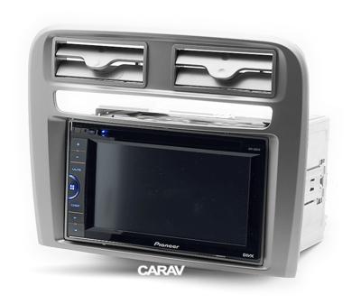 Carav Рамка FIAT Punto (199/310) 2005-2014, Linea (323) 2007-2014 (руль слева) (CARAV 11-750) (фото, вид 3)