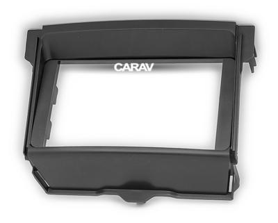 Carav Рамка TOYOTA Land Cruiser Prado (150) 2009-2013 (установка вместо нижнего бардачка) (CARAV 11-776) (фото, вид 4)