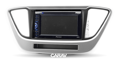 Carav Рамка HYUNDAI Solaris 2017+ ( с карманом) (CARAV 11-784) (фото, вид 3)