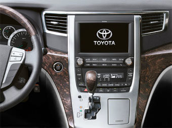 Incar (Intro) Переходная рамка Toyota Alphard 08+ 2DIN (Incar RTY-N62) (фото, вид 2)