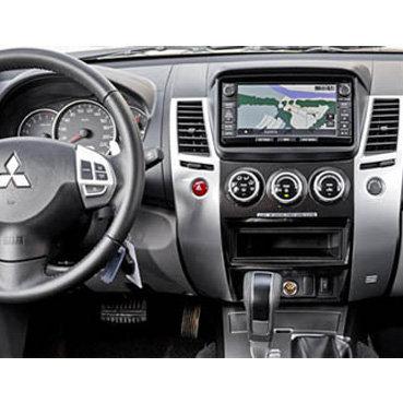 Incar (Intro) Переходная рамка Mitsubishi Pajero Sport 15+, Triton 2DIN (Incar RMS-N22) (фото, вид 2)