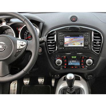 Incar (Intro) Переходная рамка Nissan Juke 15+ 2DIN (вставки) (Incar RNS-N12W) (фото, вид 2)