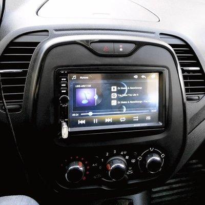 Incar (Intro) Переходная рамка Renault Duster, Sandero 14+, Kaptur, Logan 2DIN (Incar RFR-N16) (фото, вид 1)