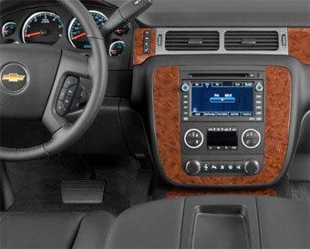 Incar (Intro) Переходная рамка Chevrolet Tahoe, Suburban, Yukon 07+ 2DIN (Intro 95-3305A) (фото, вид 2)