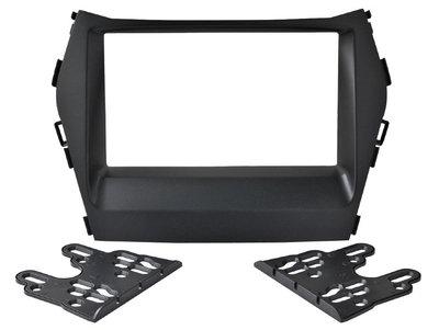 Incar (Intro) Переходная рамка Hyundai Santa Fe 12-15 2DIN (Incar RHY-N41A) (фото, вид 1)