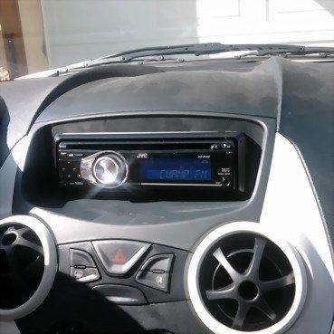 Incar (Intro) Переходная рамка Ford KA 08+ 1DIN (Incar RFO-N24) (фото, вид 2)