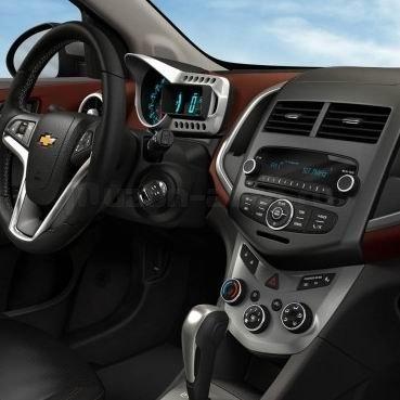 Incar (Intro) Переходная рамка 2DIN Chevrolet Aveo 12+ (Incar RCV-N10) (фото, вид 2)