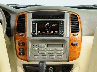 Incar (Intro) Переходная рамка 2DIN для Toyota Land Cruiser 100 (105) Original (Incar RTY-N04R) (фото, вид 1)