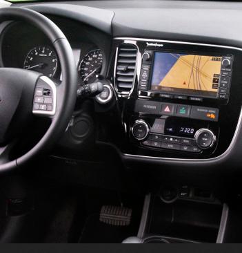 Incar (Intro) Переходная рамка 2DIN Incar RMS-N21 для Mitsubishi Outlander 2013+ (фото, вид 2)
