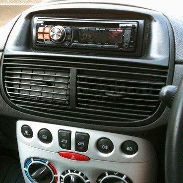 Incar (Intro) Переходная рамка Fiat Punto 99-04 1DIN RFI-N03 (фото, вид 1)
