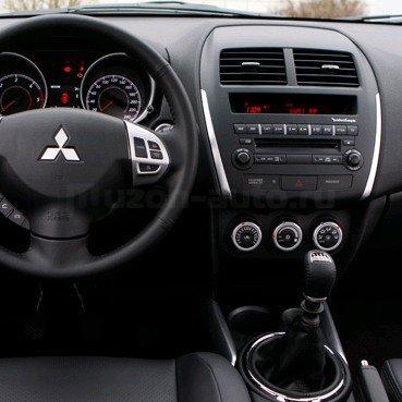 Incar (Intro) Переходная рамка Mitsubishi ASX 2din(крепеж) RMS-N16 (фото, вид 1)