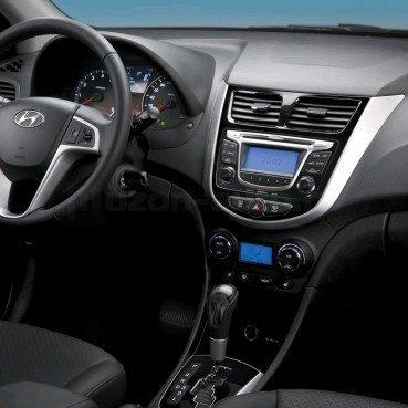 Incar (Intro) Переходная рамка Hyundai Solaris 10+ (Intro RHY-N19) (фото, вид 3)