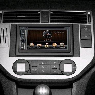 Incar (Intro) Переходная рамка Ford Focus 2, C-Max, S-Max, Fusion, Fiesta 05+ 2DIN (крепеж) Incar RFO-N07S (фото, вид 3)