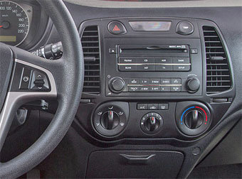 Incar (Intro) Переходная Рамка Hyundai i-20 2DIN (крепеж) black Intro RHY-N12 (фото, вид 1)