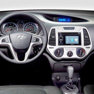 Incar (Intro) Переходная Рамка Hyundai i-20 2DIN (крепеж) black Intro RHY-N12 (фото, вид 2)