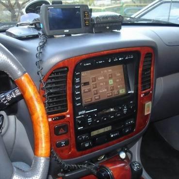 Incar (Intro) Переходная рамка Toyota Land Cruiser 100B Incar RTY-N13 (фото, вид 1)