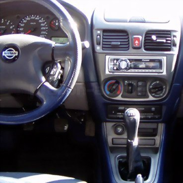 Incar (Intro) Переходная рамка Nissan Almera 01-05 1DIN (широкая) RNS-N02 (фото, вид 1)