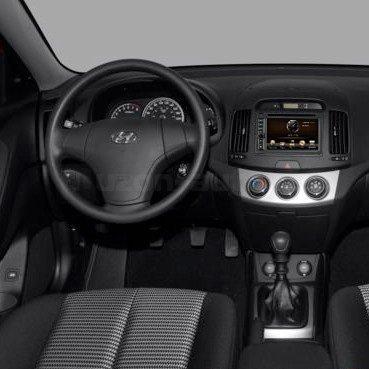 Incar (Intro) Переходная рамка Hyundai Elantra 07+ 2DIN Intro RHY-N09 (фото, вид 1)