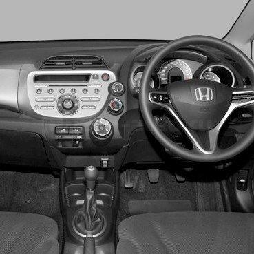 Incar (Intro) Incar RHO-N09   2DIN переходная рамка Honda Fit (правый руль) (фото, вид 1)
