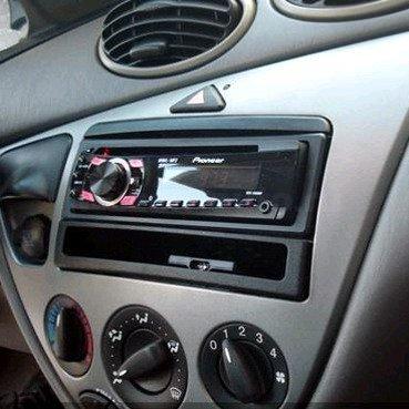 Incar (Intro) Переходная рамка Ford Focus, Fiesta до 05 Transit до 06, Mondeo до 02 1DIN (карман) Incar RFO-N06 (фото, вид 1)