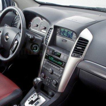 Incar (Intro) Переходная рамка 2/1 DIN Chevrolet Aveo, Captiva, Epica 06-11 (Incar RCV-N01) (фото, вид 1)