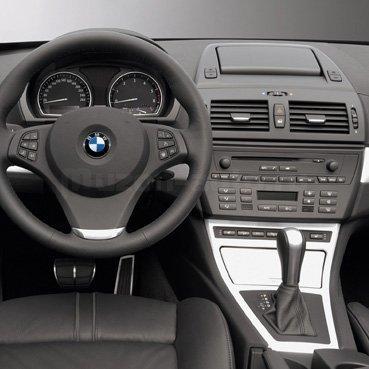 Incar (Intro) Переходная рамка BMW X3 (E83) 04+ 1DIN Incar RBW-X3 (фото, вид 1)