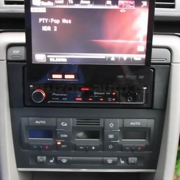 Incar (Intro) Переходная рамка 1DIN Audi A4 01+ (B6) Intro RAU4-01 (фото, вид 1)